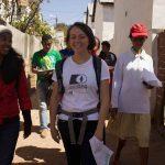 Cartopartie dans un des villages du Père Pédro, avec les nouveaux formés.